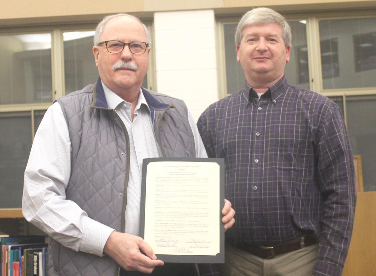 School board emeritus recipient