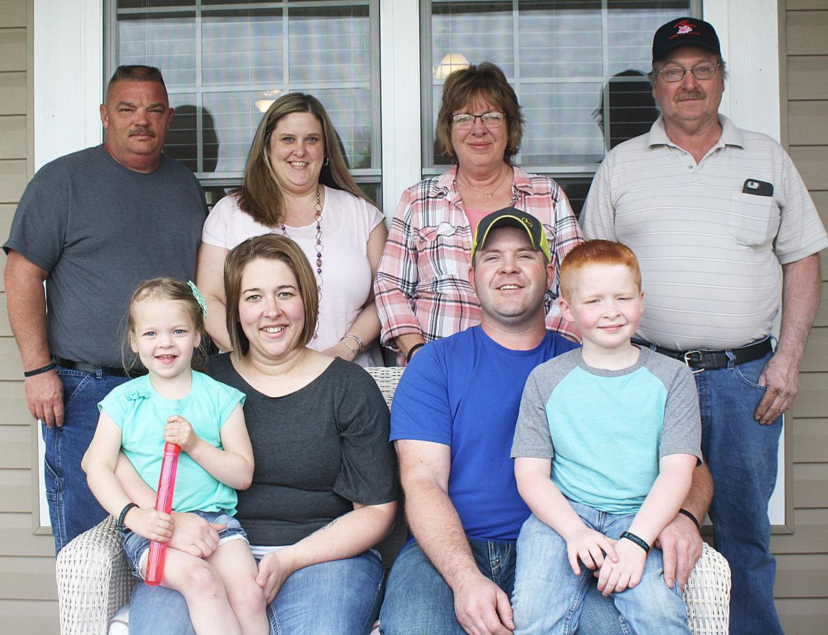 Family members gather for Kyndel