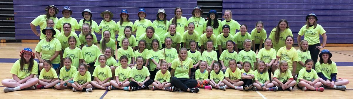 Logan Lady Chiefs softball campers