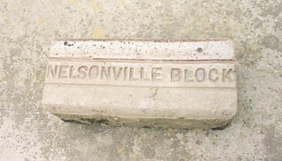 Nelsonville's history brick by brick