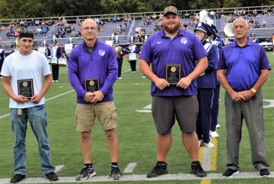 Hall of Famers receive their plaques