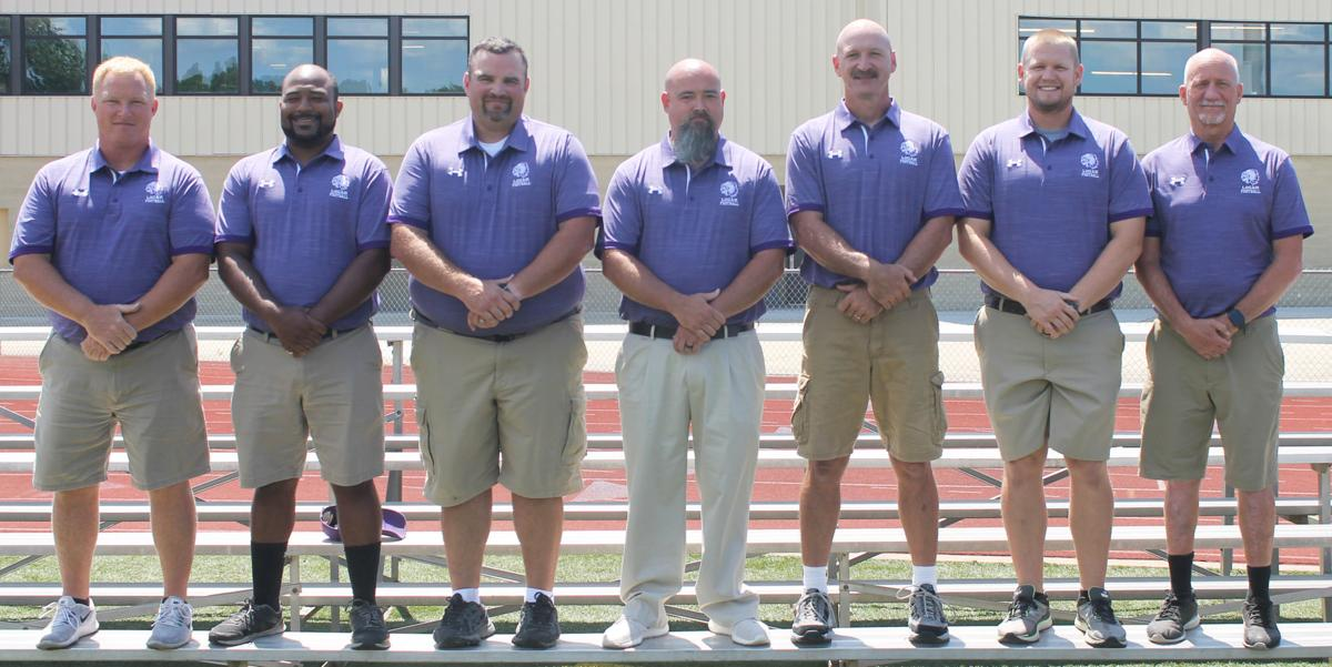 Logan football coaching staff
