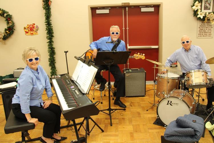 Becky McClaflin, Terry Handy & Geoff Moran, Riptide Big Band Rhythm Section
