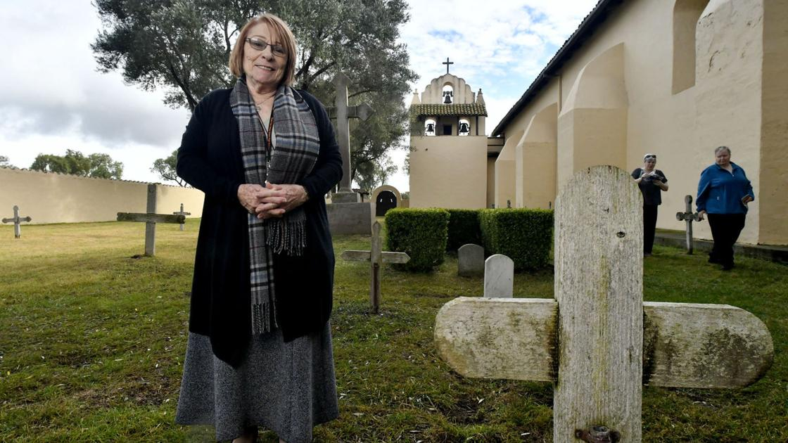 She holds the history of Old Mission Santa Ines in her hands - Lompoc Record