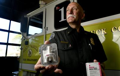Narcan and Santa Maria Fire Department