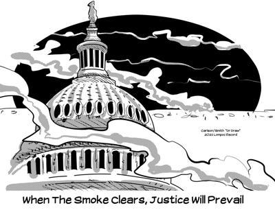 Editorial Cartoon: Justice