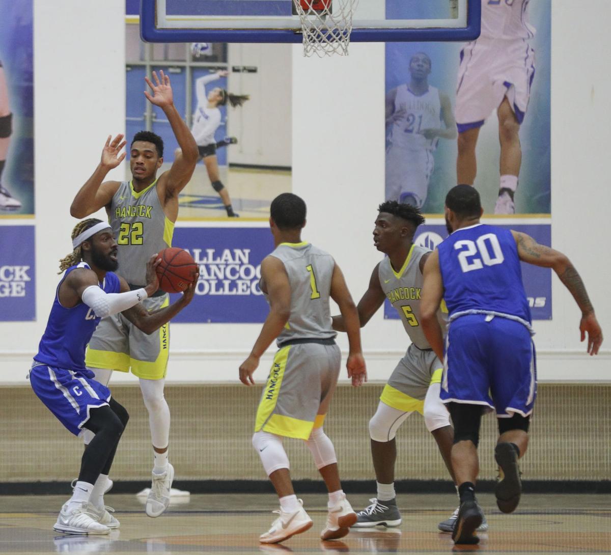 Men's Basketball Hancock vs Cerritos College