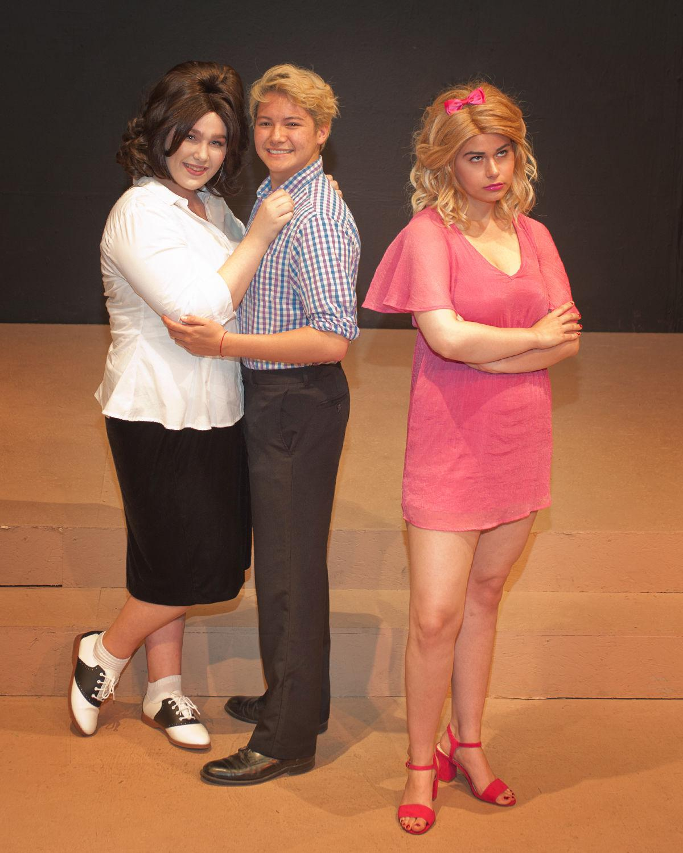 "SMCT ""Hairspray"": Grace Kitchen, Kai Rosales and Becky Larson"