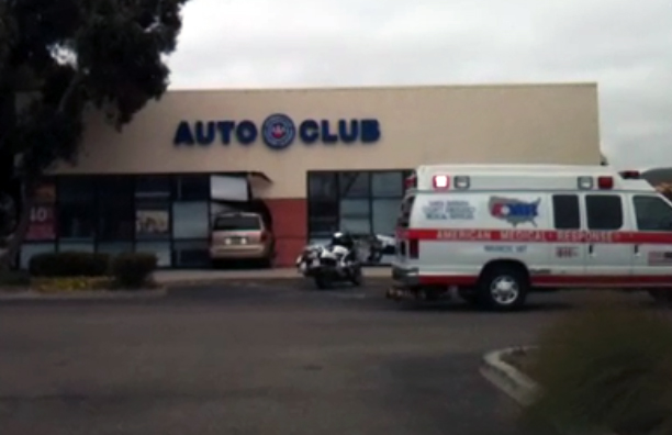 Minivan Crashes Into AAA Office In Lompoc