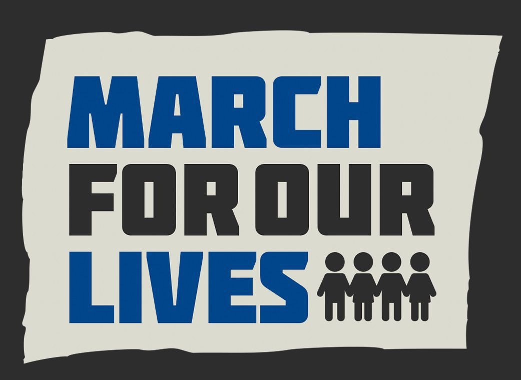 March for our lives graphic