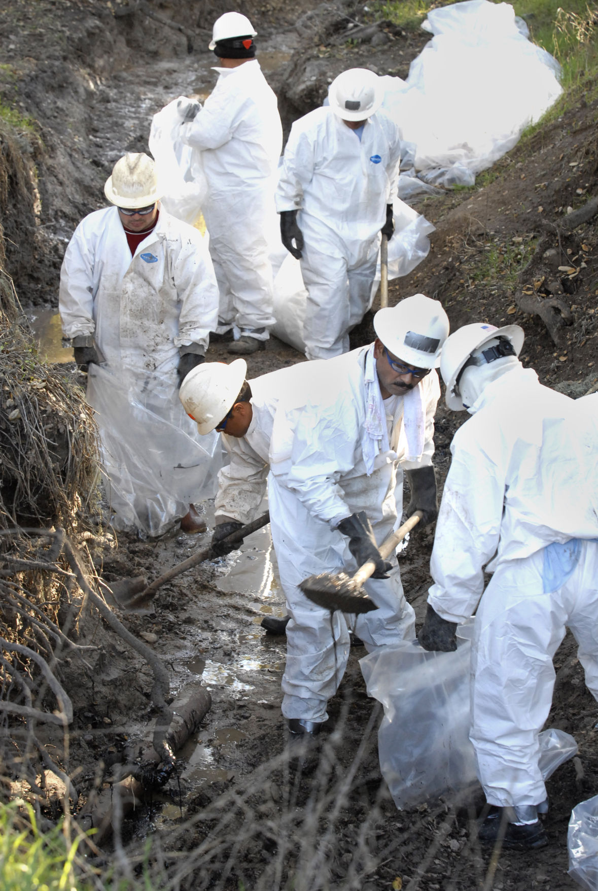 Cleanup of 2008 spill