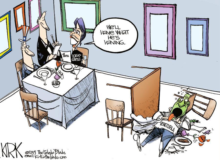 Cartoon: What Venezula's having
