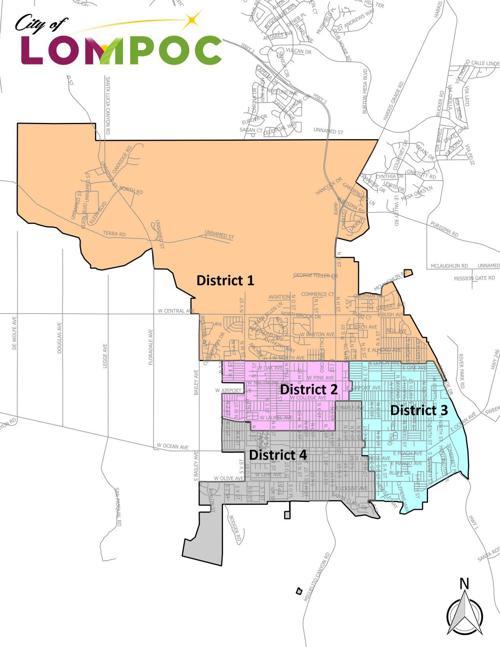 Lompoc District Elections Map