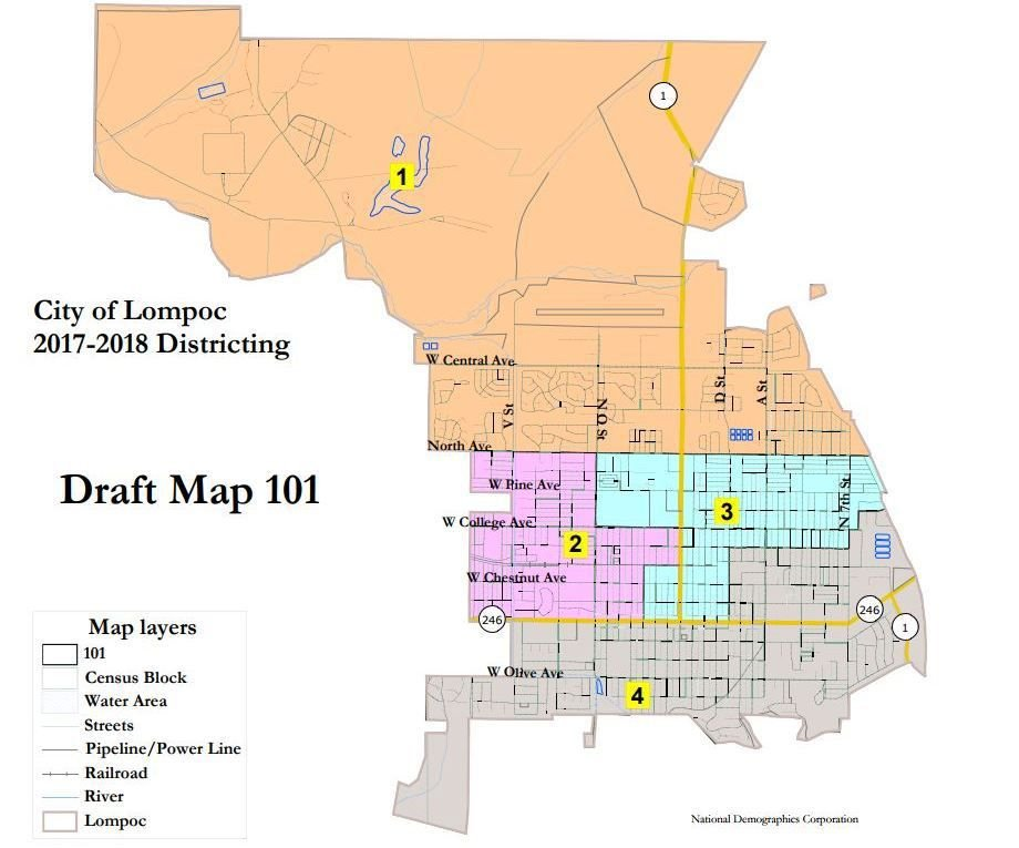 Lompoc Demographics Map
