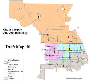 Lompoc Demographics Map