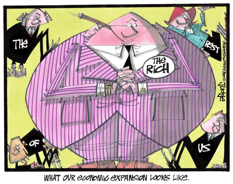 Cartoon: Economic expansion