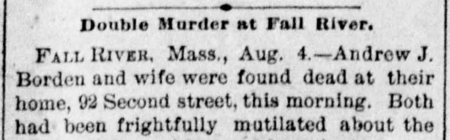 Borden double murder