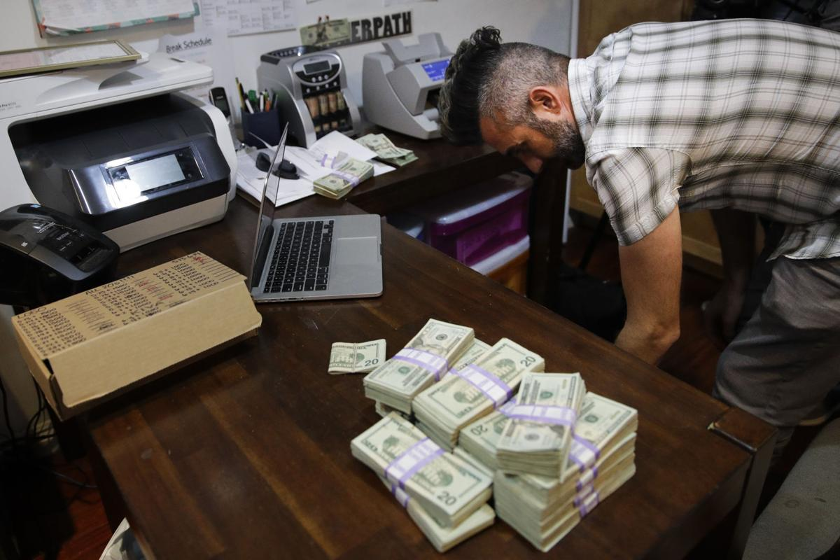 Marijuana Cash Business