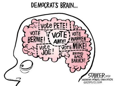 Editorial Cartoon: Democrat's Brain ...
