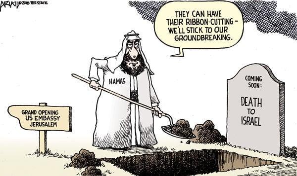 Cartoon: Hamas groundbreaking
