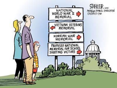 Cartoon: Another memorial?