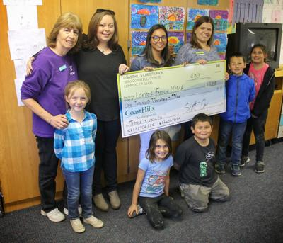 CoastHills Credit Union donates $1,000 to Lompoc Family YMCA's child care programs