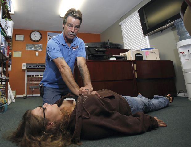 Lompoc employer gets CPR, other training for his employees