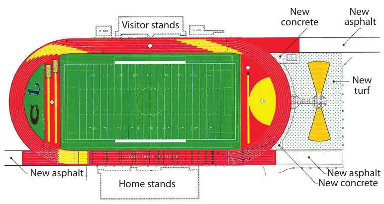 Huyck Stadium plan