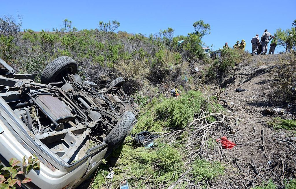 Updated Driver Freed From Car After Rollover Accident On