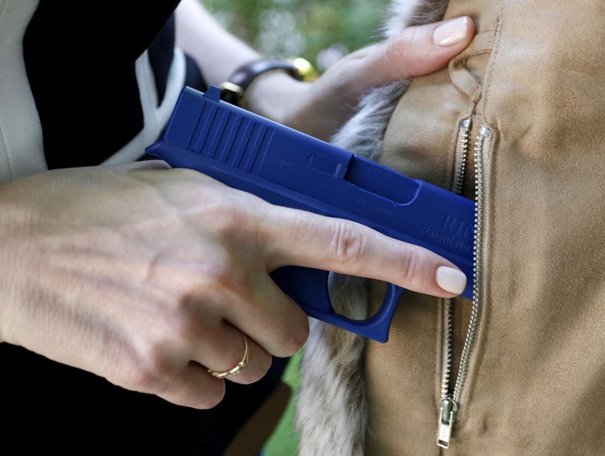 Does this gun make me look fat? Firearms spur fashion niche