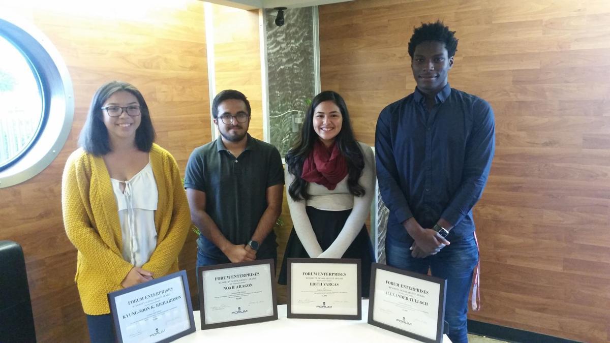 2016 forum enterprises scholarship winners