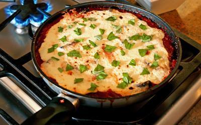 FOOD-QUICKFIX-MI -- Eggplant Parmesan