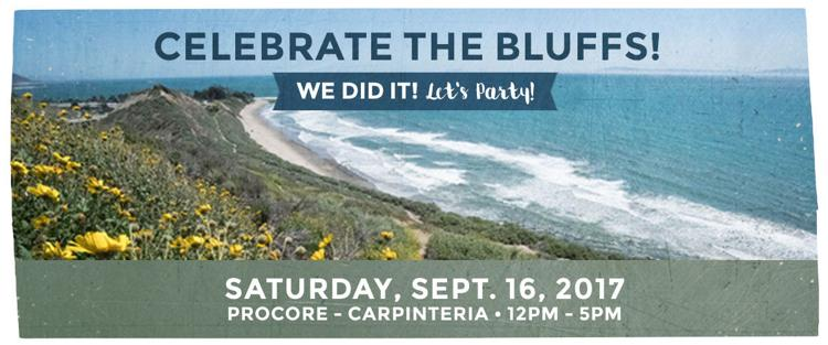 Celebrate the Bluffs