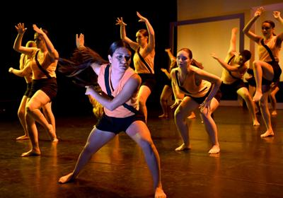 Photos: Hancock College's Dimensions in Dance takes the stage
