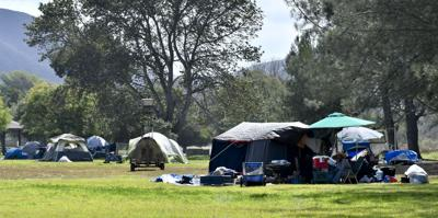 Lompoc homeless triage camp
