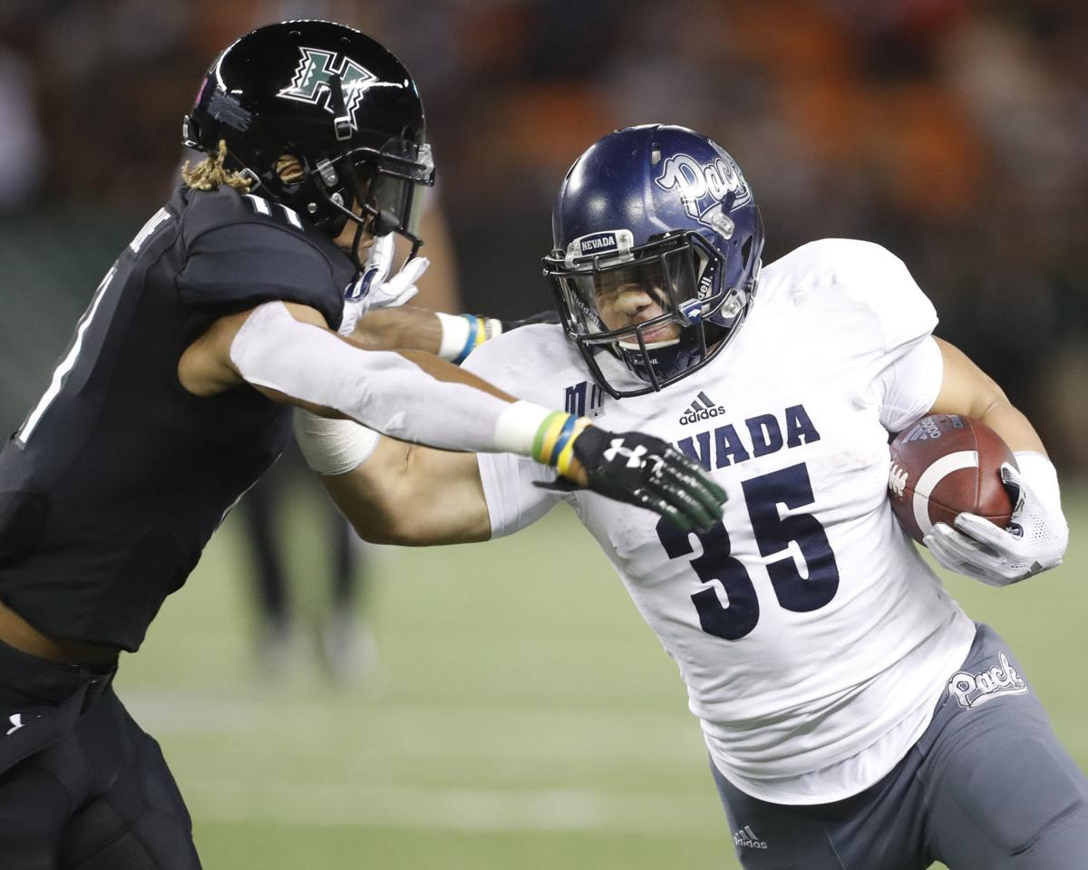 Nevada Hawaii Football