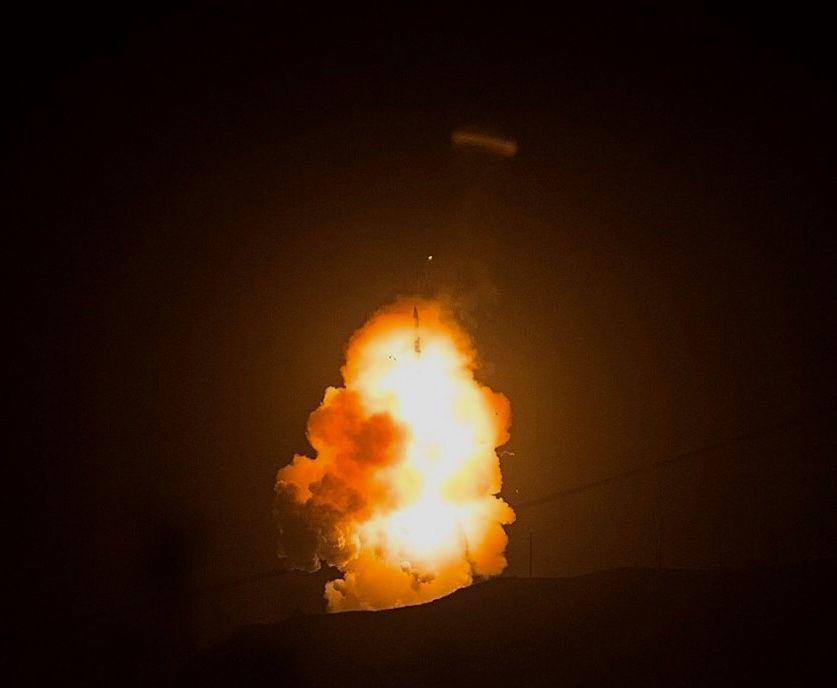 050919 VAFB Minuteman III test 01