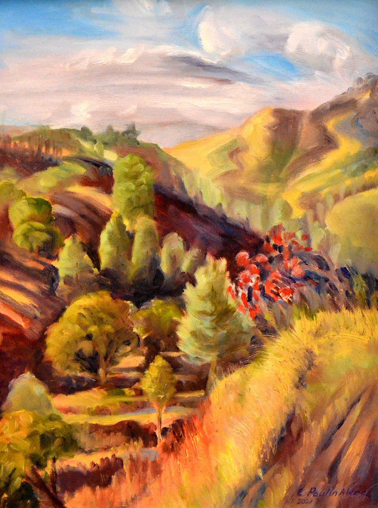 Liz Poulin Alvarez, Midland Trail