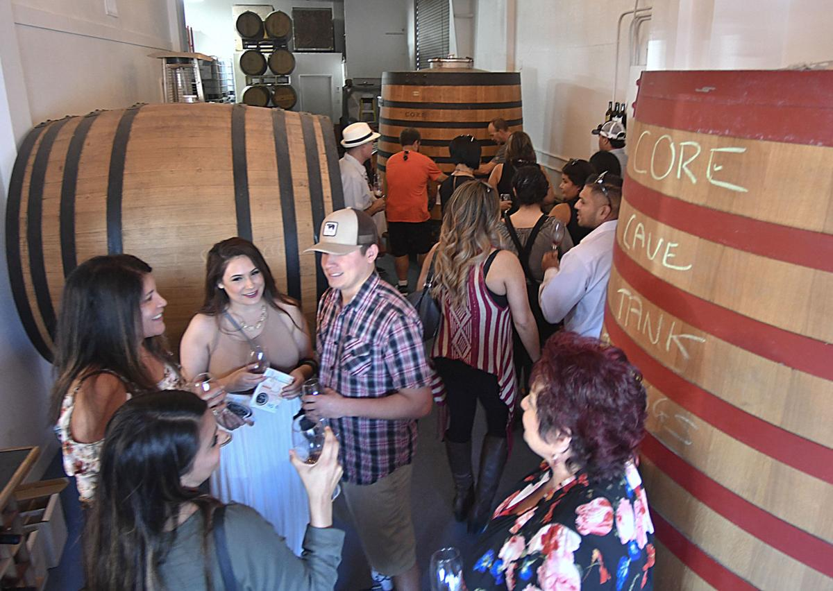 GALLERY: Wine tasters hit the streets for Sip Lompoc