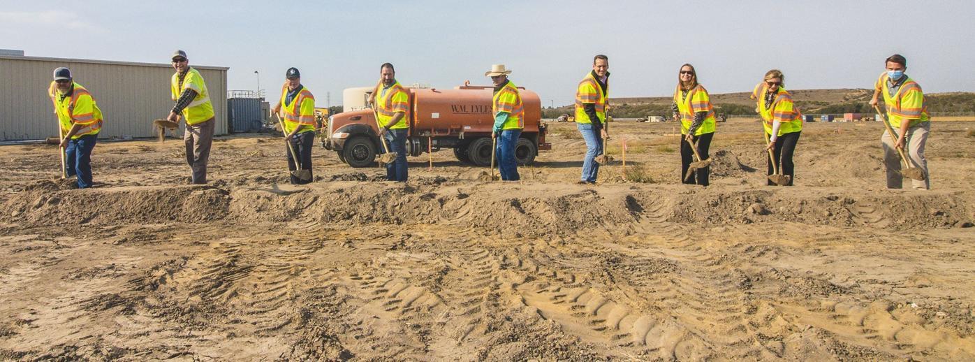 Laguna County Sanitation District groundbreaking