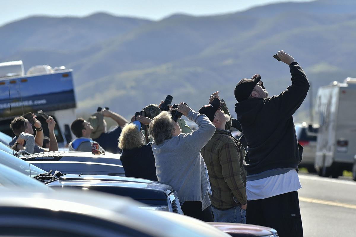 GALLERY: Fallen firefighter Ryan Osler remembered with beautiful launch from VAFB