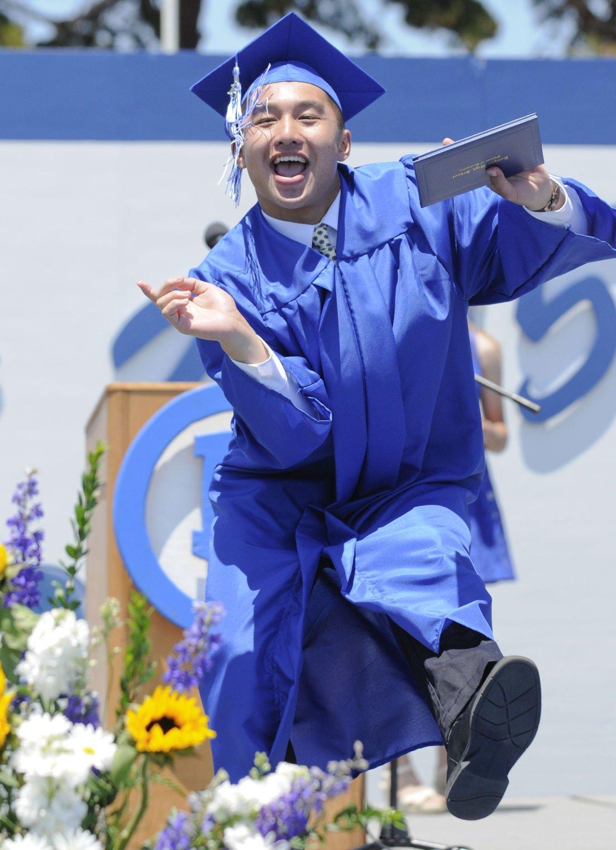 Lhs graduates display brave pride during commencement local news lompocrecord com