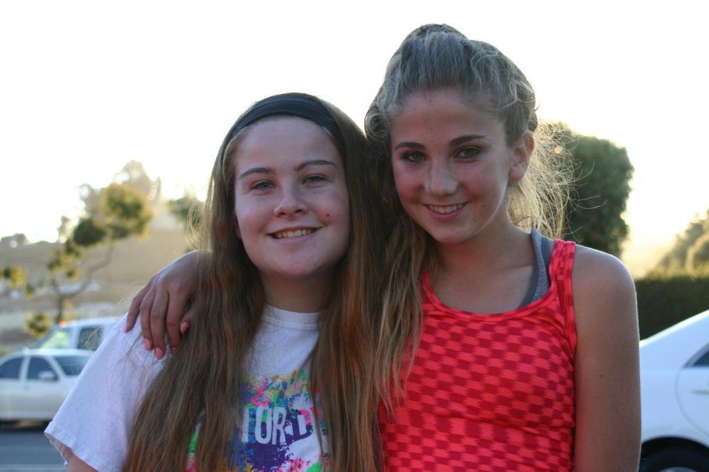 Chloe and Malia