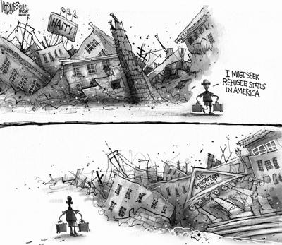Editorial Cartoon: Haiti