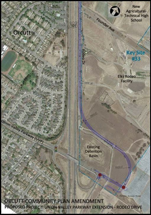 Union Valley Parkway connection concept