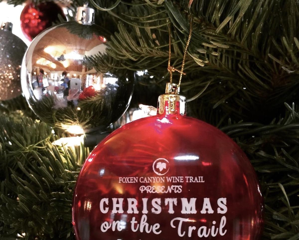 The third annual Christmas on the Trail is Dec.  9 and 10 this year
