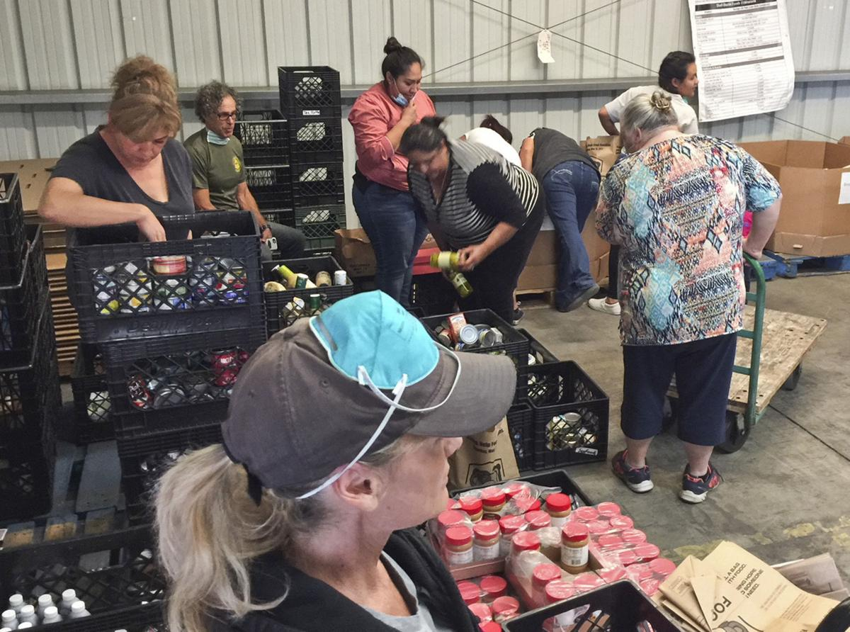 food bank of SBC thomas fire relief