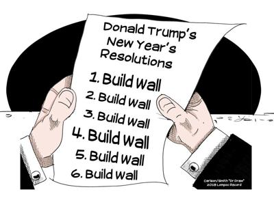 Dr. Draw: Donald's resolutions