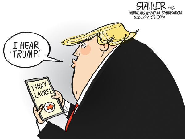 Cartoon: Laurel or Yanny?