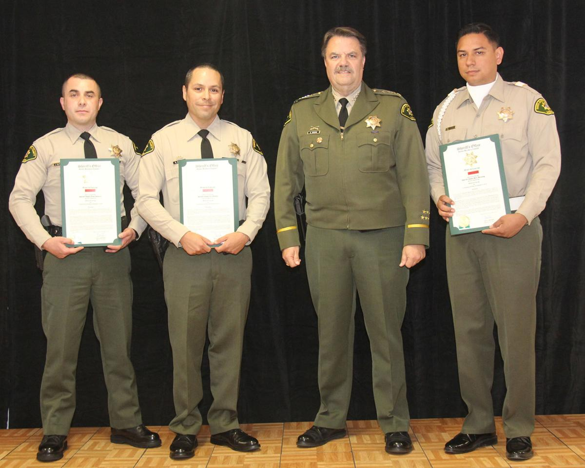 santa barbara county sheriff u0027s office recognizes its own for